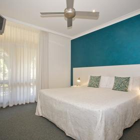 Korora Bay Village - Unit Bedroom