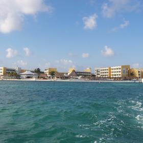 Resort from the water