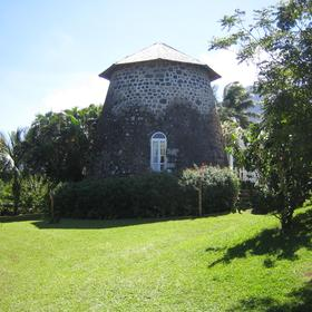 Sugar Mill on St. Kitts