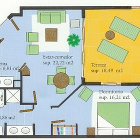 Palm Oasis - Unit Floor Plan