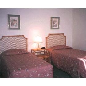 Guest Room at Leisure Club International at Padre Island
