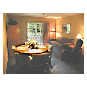 Telemark - Unit Dining & Living Areas