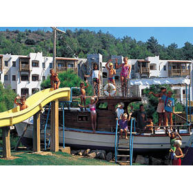 Kids Playground at the Bodrum Sea Garden Village