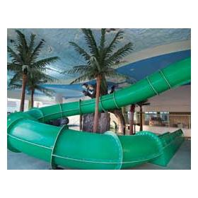 Water slide and lazy rivers