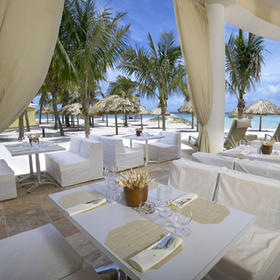 Beach Villas at Divi Phoenix Restaurant