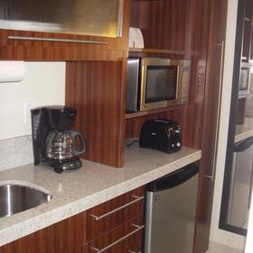 Studio unit Kitchenette