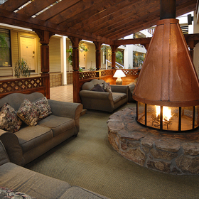 The Christie Lodge Indoor Fire Pit