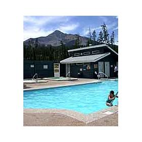 Pool at Lake Condominiums at Big Sky