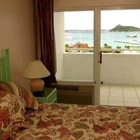 The Atrium Resort on Simpson Bay Beach - Bedroom