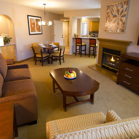 The Ridge on Sedona Golf Resort Living Area