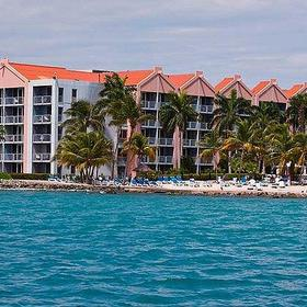 Resort view from the ocean