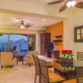 Casa Dorada at Medano Beach Living and Dining Area