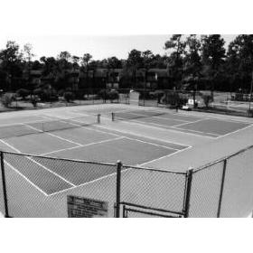 Links Golf and Racquet Club - tennis court