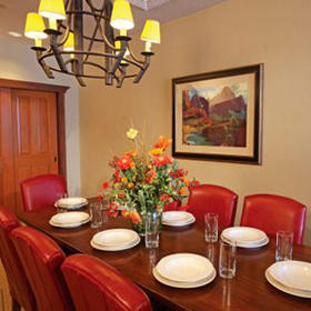 WorldMark Park City Dining Area