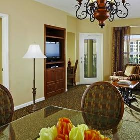Hilton Grand Vacations Club (HGVC) at Tuscany Village Living Area