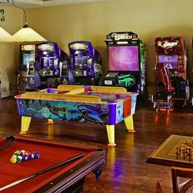 Hilton Grand Vacations Club (HGVC) at Tuscany Village Game Room