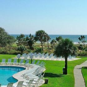 Vacation Time of Hilton Head Island - Ocean Dunes Pool and Grounds