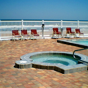 Marine Terrace Hot Tub