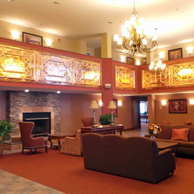 Berkshire Mountain Lodge Lobby