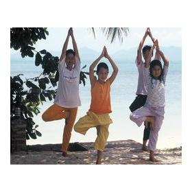 Children's Yoga Class at Health Oasis Resort