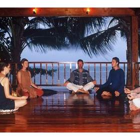 Nightly Meditation at Health Oasis Resort