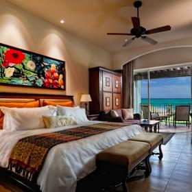 Grand Residences by Royal Resorts Bedroom and Balcony
