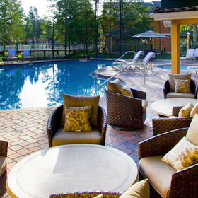 Best Western Premiere Saratoga Resort Villas Pool and Lounge