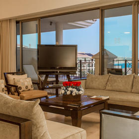 Casa Dorada at Medano Beach Living Area