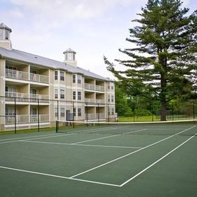 Silverleaf's Oak 'n Spruce Resort Tennis Court