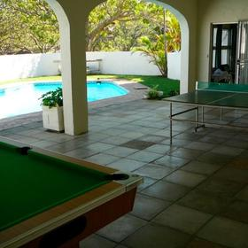 Xanadu Holiday Chalets Recreation Room