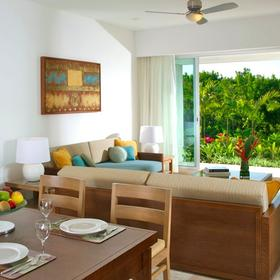 The Bliss Resort Living and Dining Area
