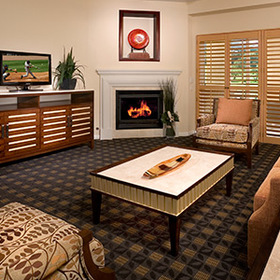 Villas on the Greens at Welk Resorts Living Area