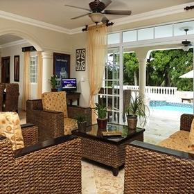 The Crown Villas at Lifestyle Holidays Vacation Resort Living Area