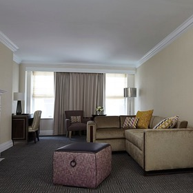 Marriott Vacation Club at the Mayflower Living Area