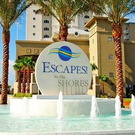 Escapes! to the Shores Fountain