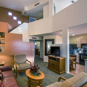 Villas of Cave Creek Living Area and Loft