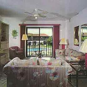 Florida Vacation Villas Club I - Unit Living Area