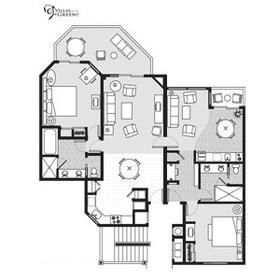Villas on the Green Floor Plan