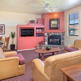 WorldMark Bison Ranch Resort Living Area
