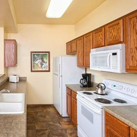 WorldMark Bison Ranch Resort Kitchen