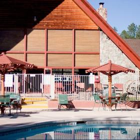 Kohl's Ranch Lodge Pool Area