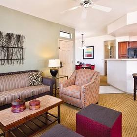 WorldMark Phoenix - South Mountain Preserve Living Area