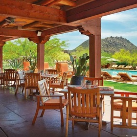 Four Seasons Residence Club Scottsdale at Troon North Poolside Dining