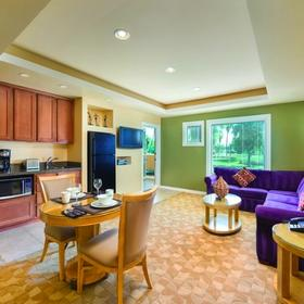 Orange Tree Golf Resort Kitchen, Living and Dining Area