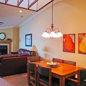 The Wharf Living and Dining Area