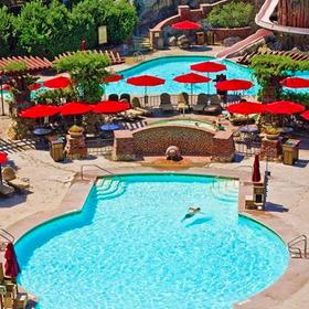 The Villas at Disney's Grand Californian Hotel & Spa Pool Area