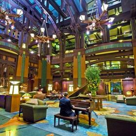 The Villas at Disney's Grand Californian Hotel & Spa Lobby