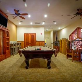 Mountain Retreat Game Room