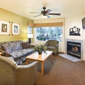 WorldMark Big Bear Living Area