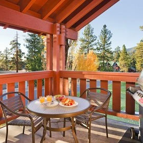 WorldMark Big Bear Balcony